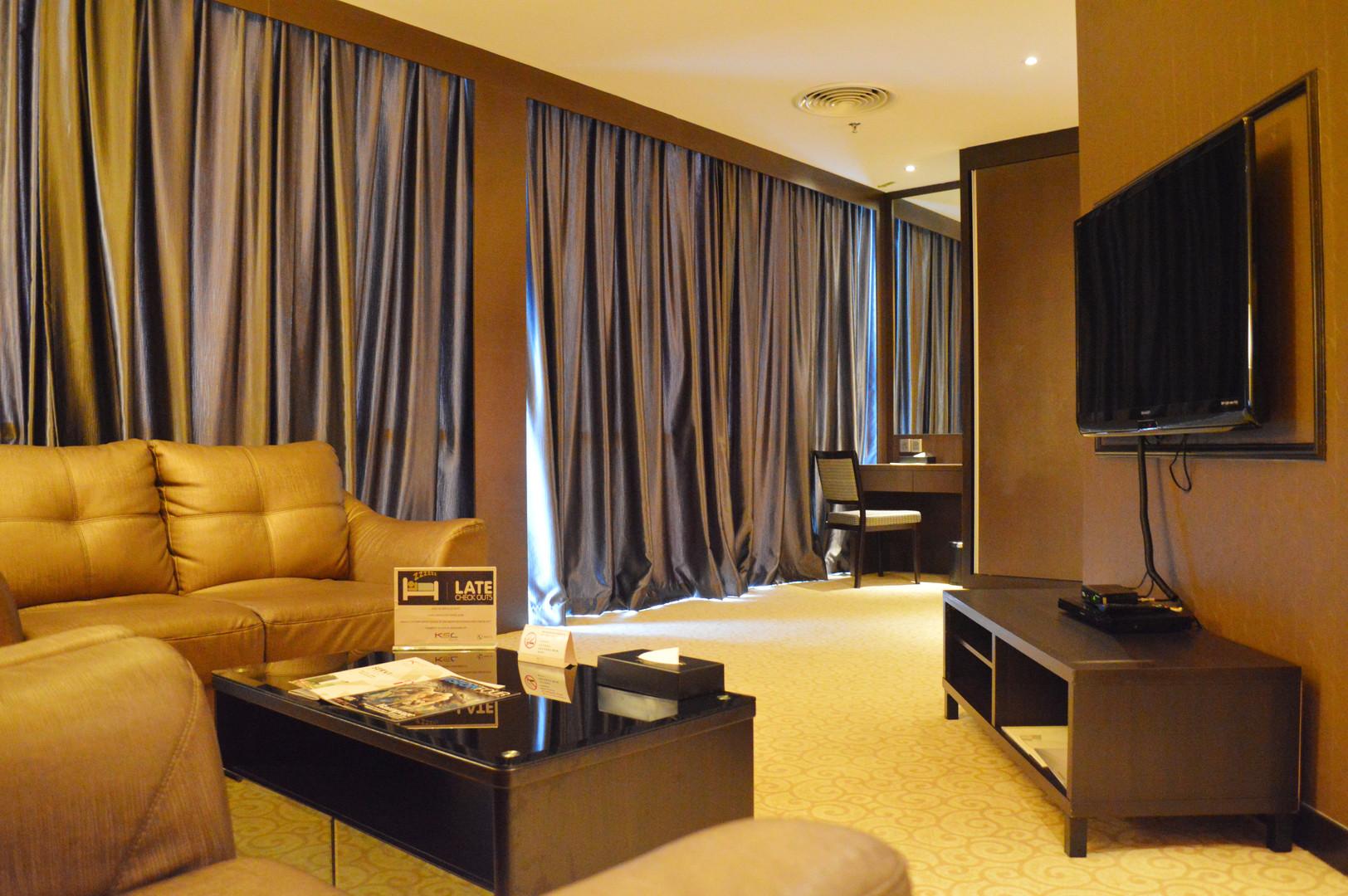KSL Resort Hotel Room Living Room Carpentry Works