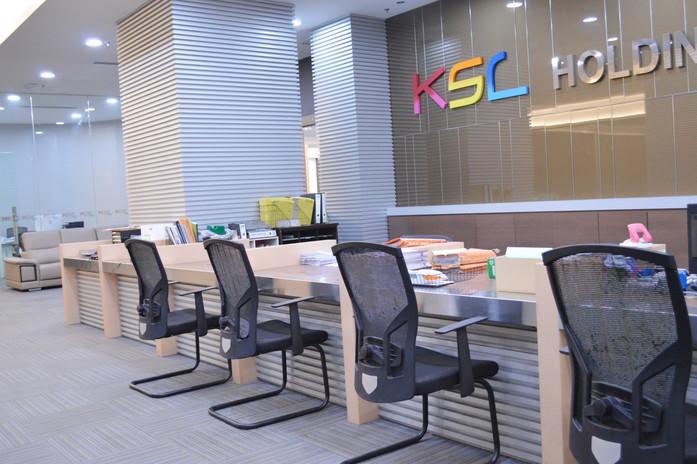 KSL Office Decoration Carpentry Works