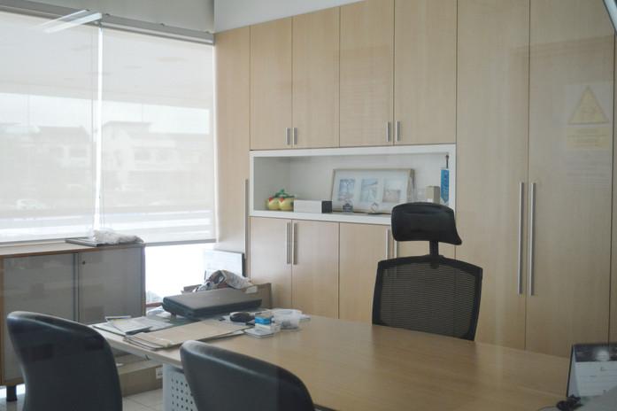 Toyota Showroom Office Wooden Wardrobe