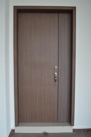 D Carlton Single Laminated Door Leaf