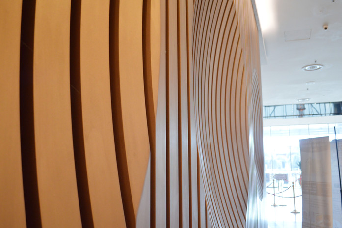 KSL Resort Reception Carpentry Works Design