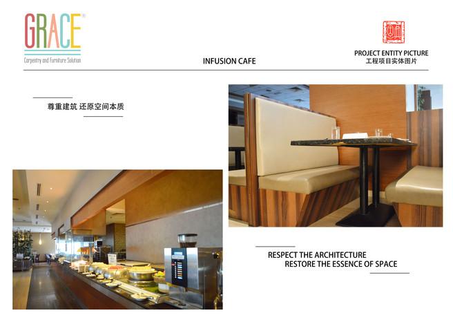 KSL Infusion Cafe Interior Carpentry Works Design Supplier