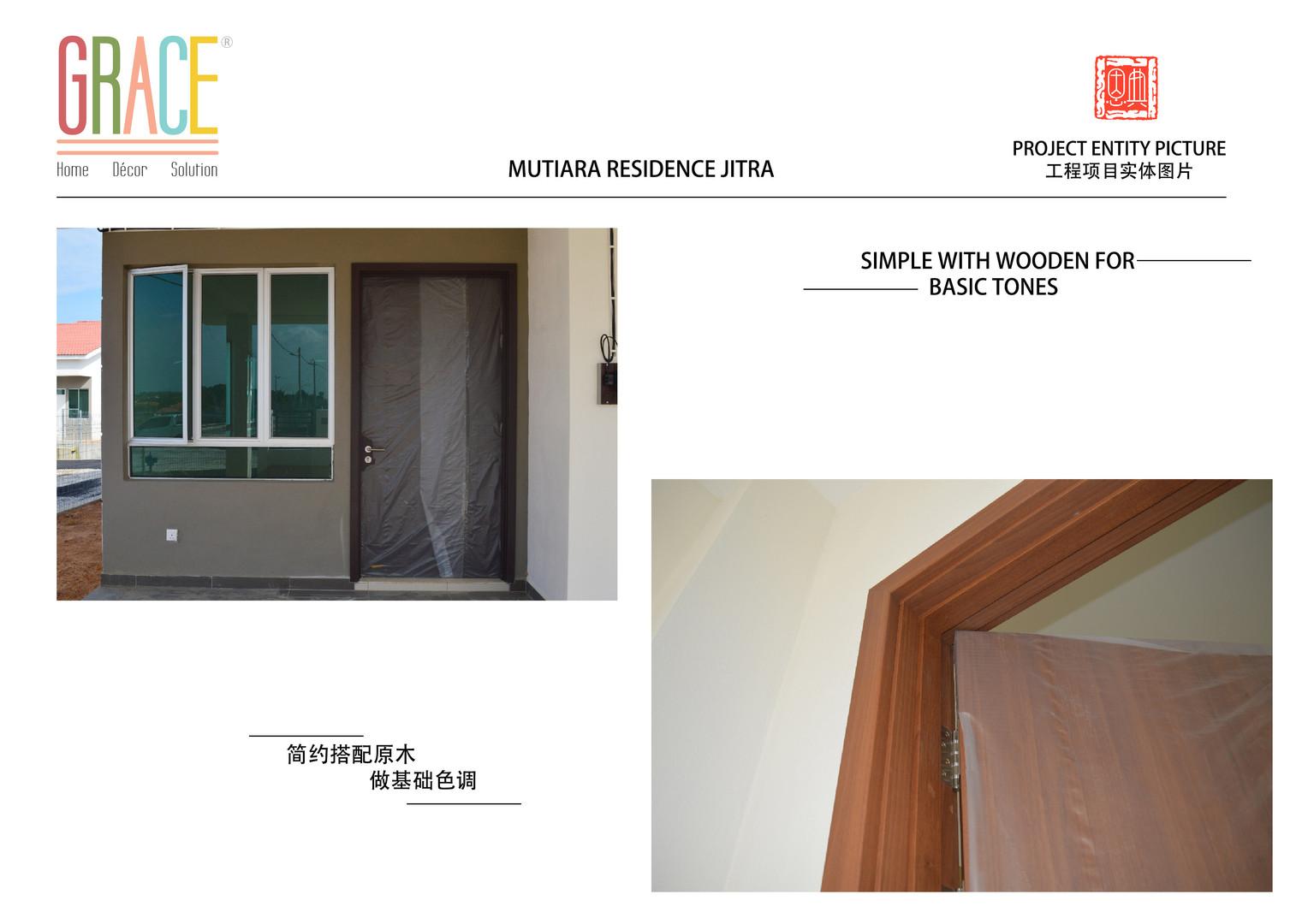 Mutiara Residence Jitra Door and Door Frame Supplier