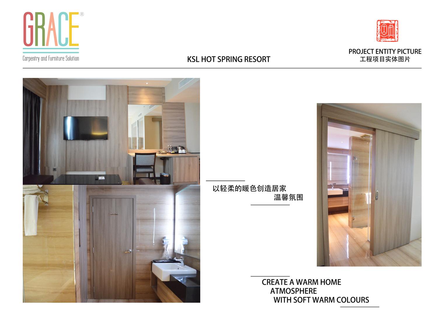 KSL Hot Spring Resort Door Supplier