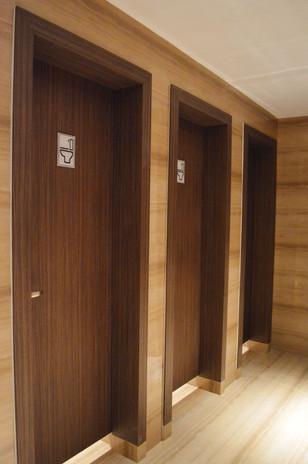 KSL Hotel Washroom Wooden Door