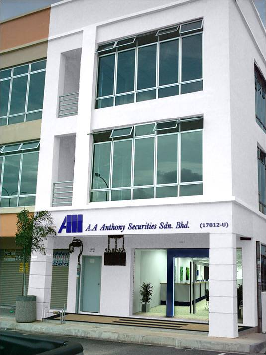 AA ANTHONY SECURITIES OFFICE