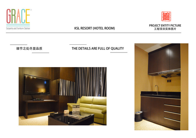 KSL Resort Hotel Room Door and Carpentry Works Supplier