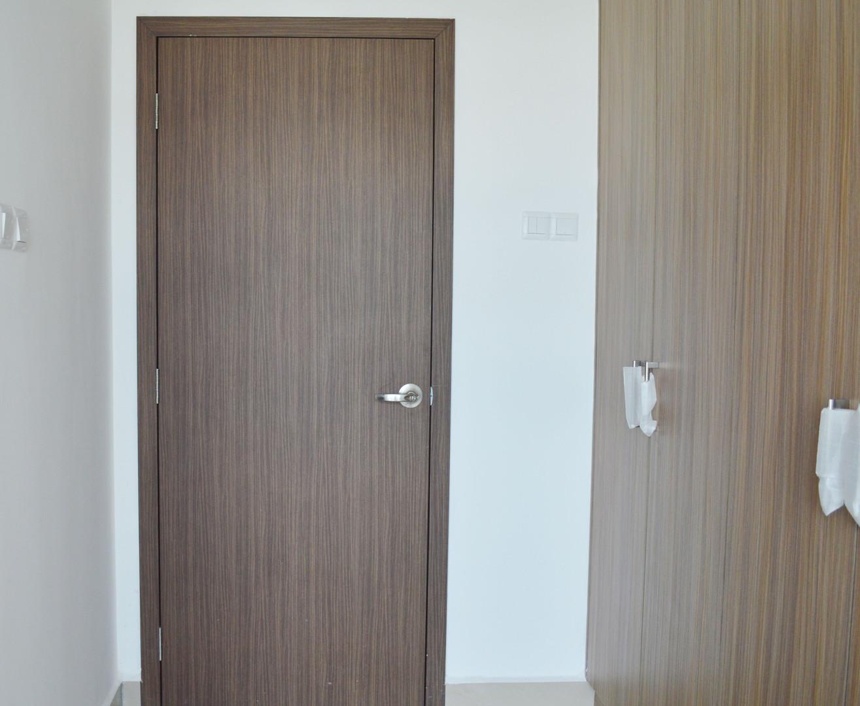 D Secret Single Vinly Door Leaf
