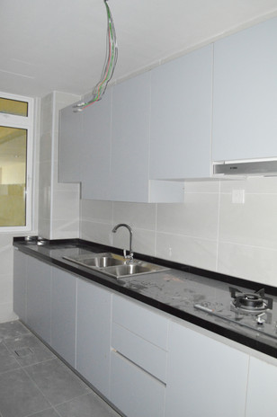 KSL Apartment Wooden Kitchen Cabinet