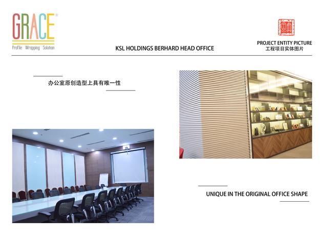 KSL Holding Berhard Head Office Carpentry Works Supplier