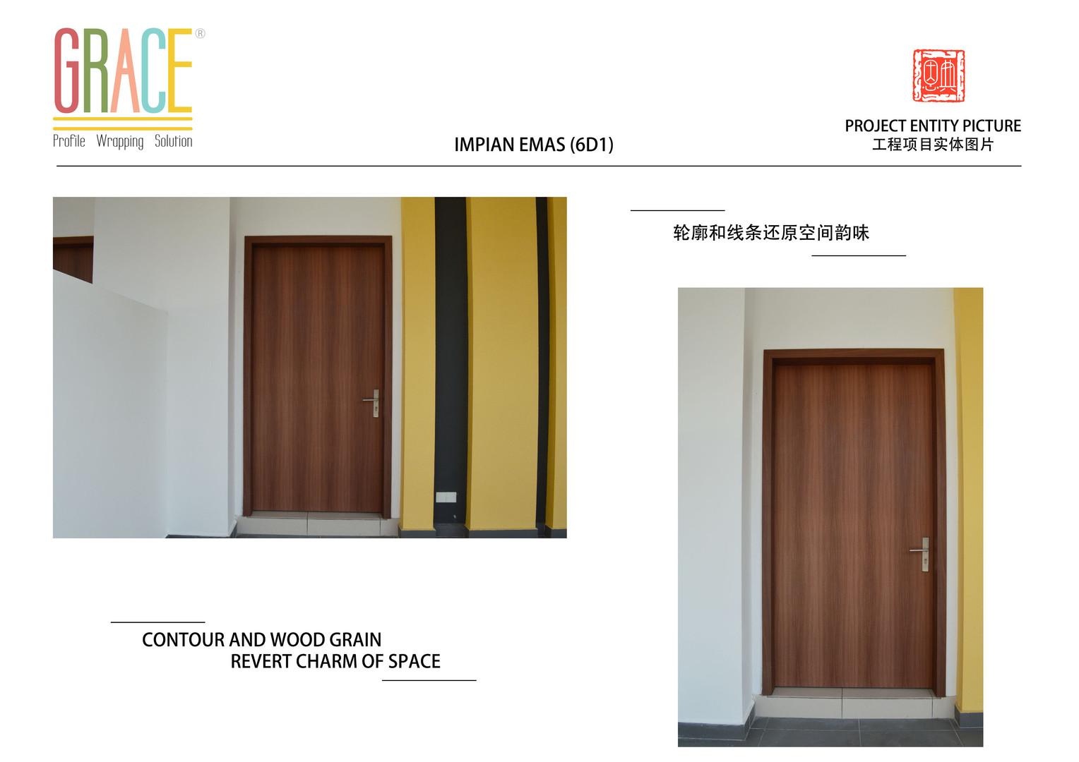Impian Emas 6D1 Door Supplier