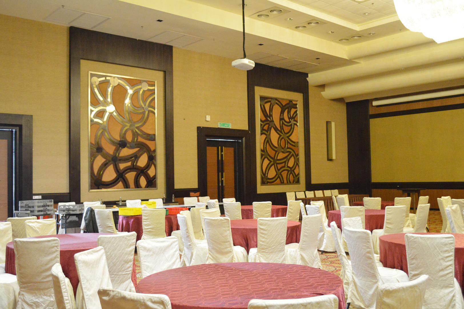 KSL Resort Lobby Ballroom Carpentry Works Design