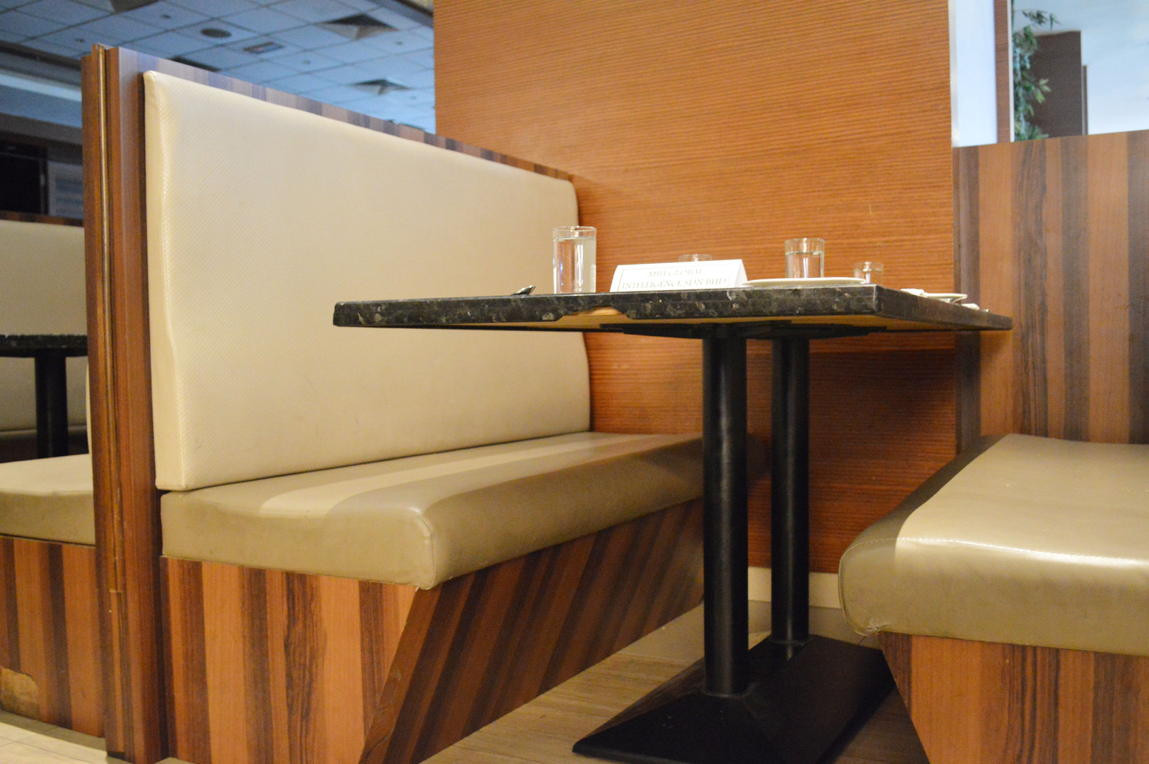 KSL Infusion Cafe Wooden Chair