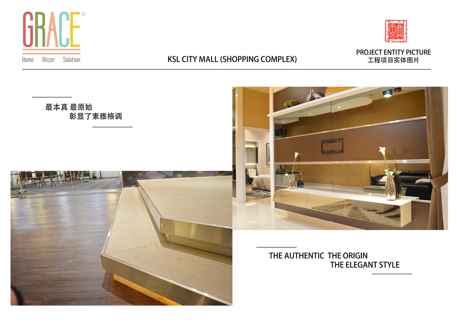 KSL City Mall Carpentry Work Design Supplier