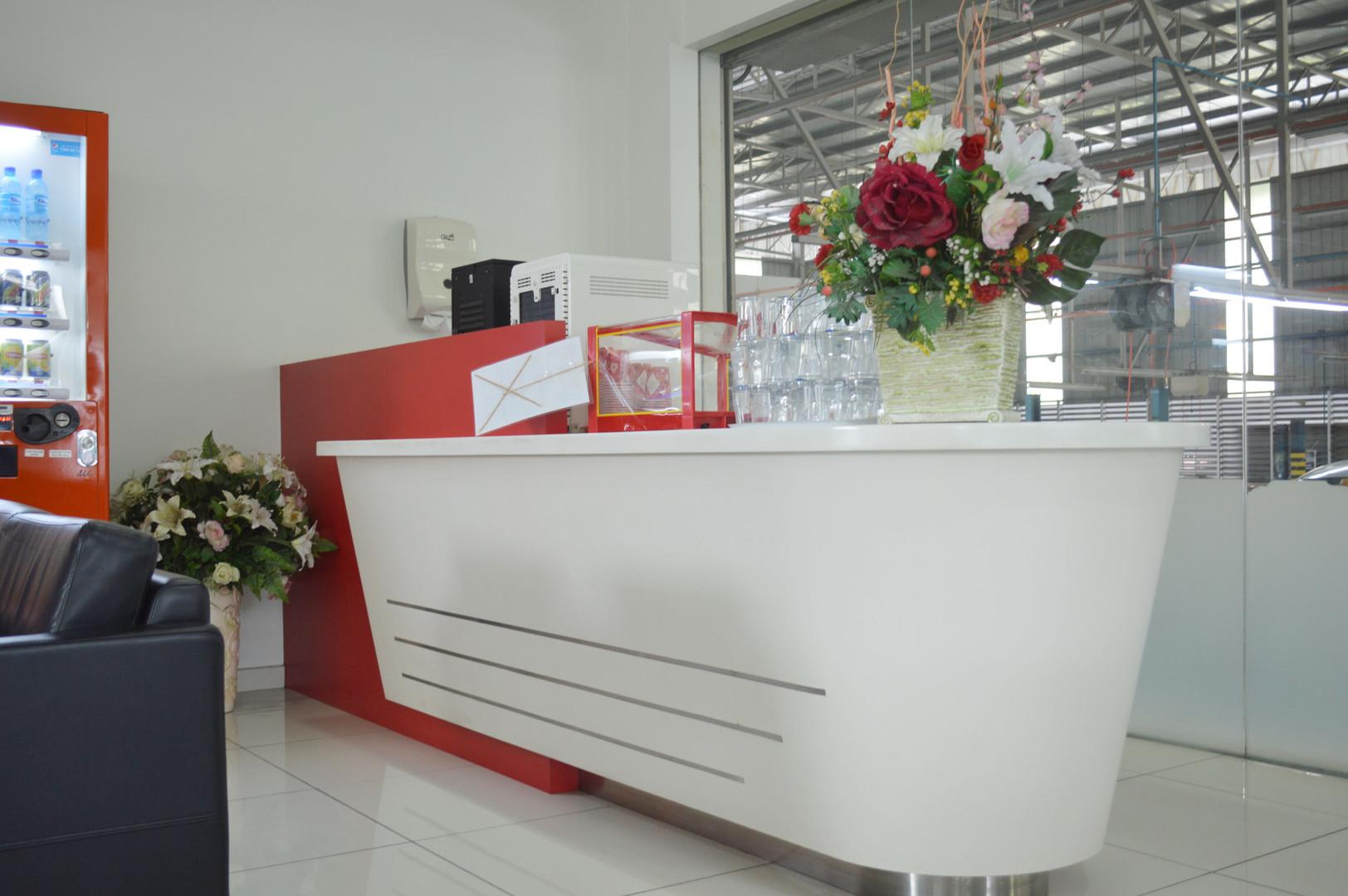 Toyota Showroom Restroom Carpentry Works