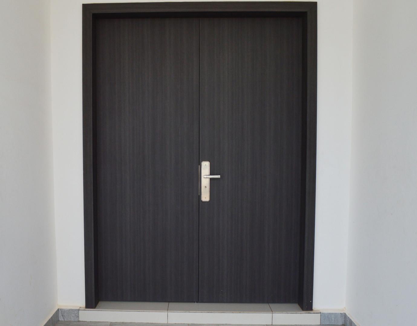 House Main Double Leaf Door
