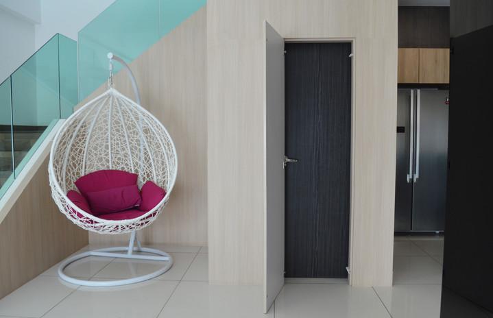 Double Layer Storeroom Door