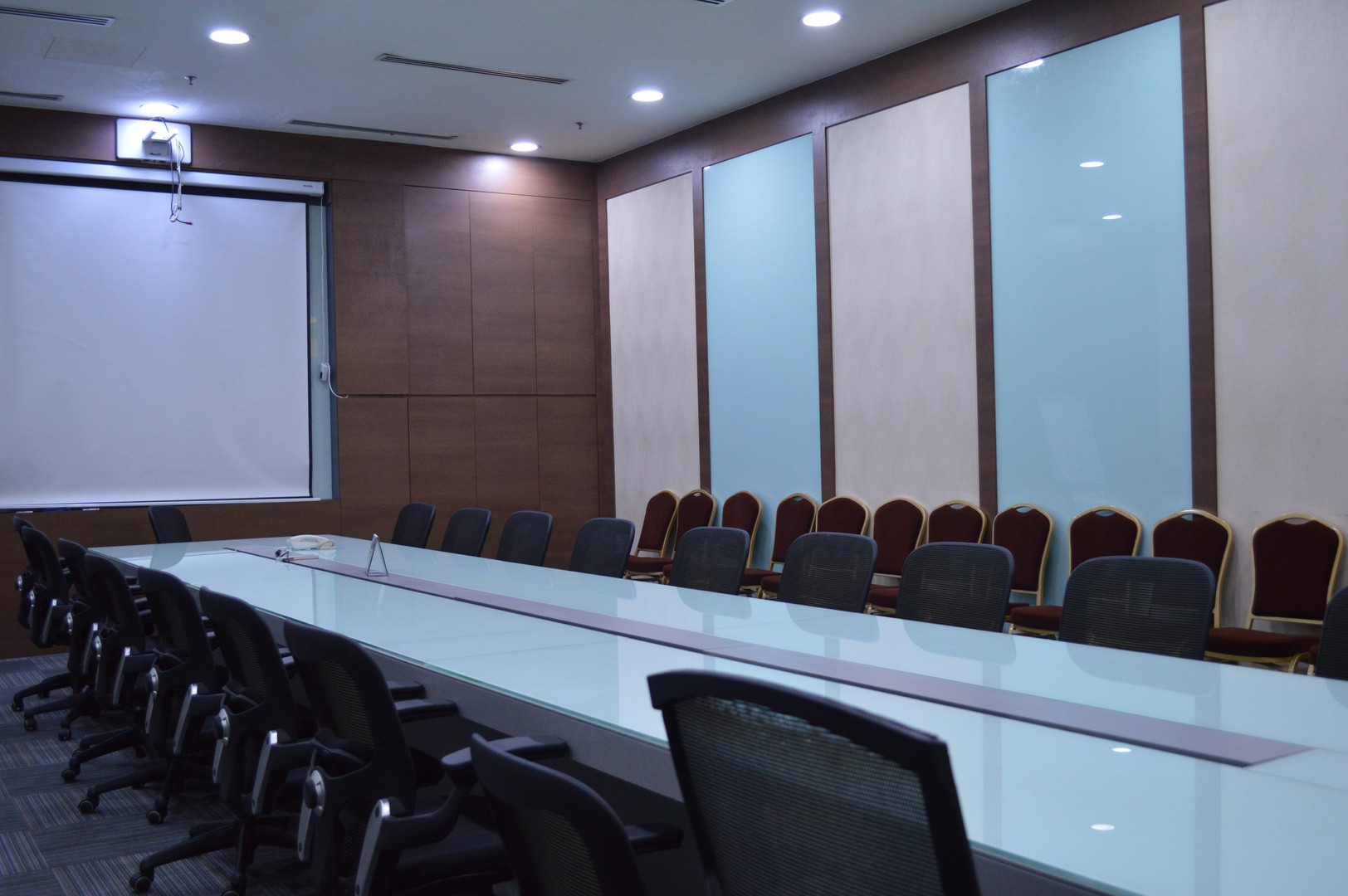 KSL Office Meeting Room Wooden Carpentry Works