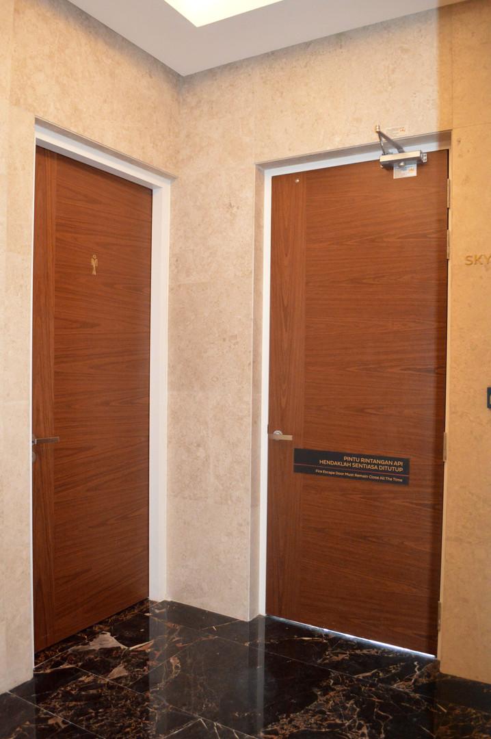 Office Fire Rated Door Design