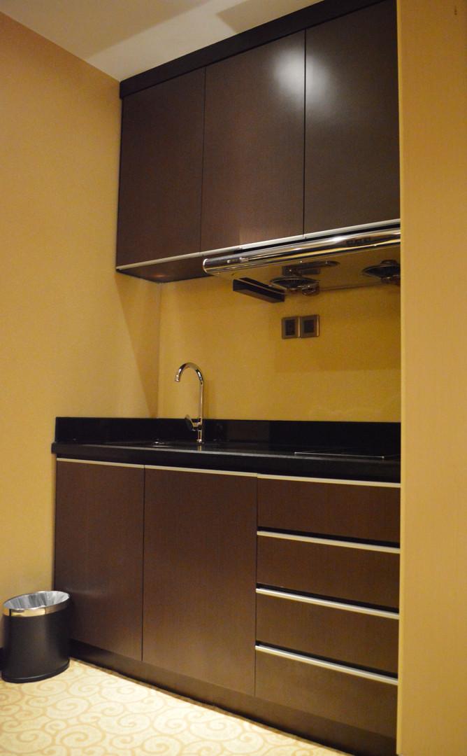 KSL Resort Hotel Room Kitchen Cabinet