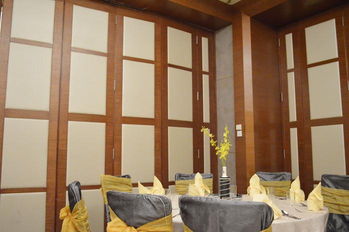 KSL Infusion Cafe Ballroom Interior Carpentry Works Design