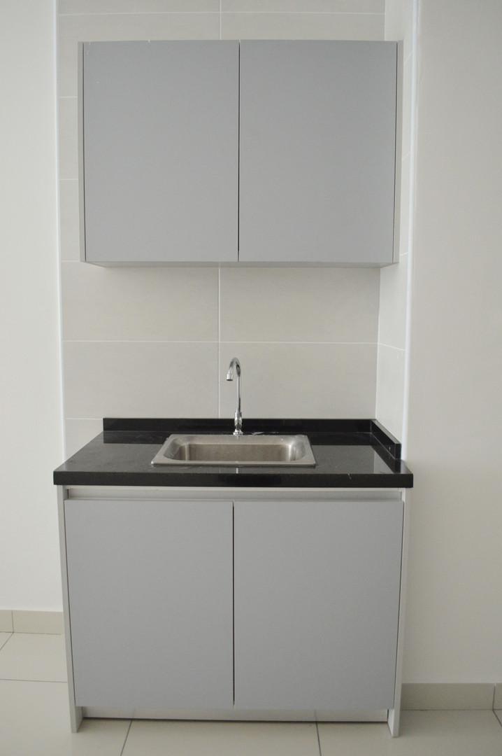 KSL Apartment Wooden Small Kitchen Cabinet