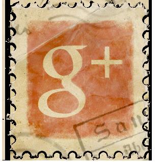 Google+ Vintage Stamp