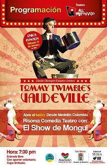 Entertainer, Tommy Twimble, vaudeville, storyteller,