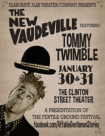 Circus, Vaudeville, circus, storyteller