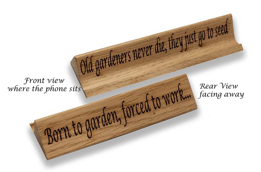 Old Gardeners Never Die