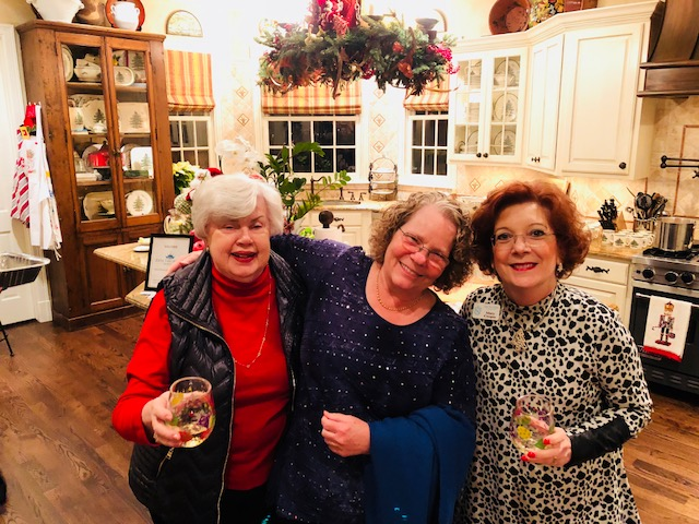 Marcy, Lisa and - Holiday Party 2017