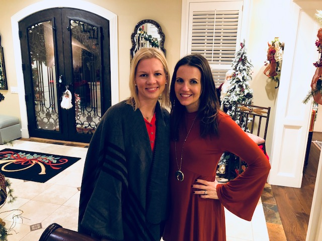 Heather and Karen - Holiday Party 2017
