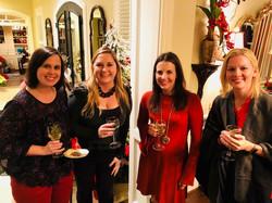 Emily, Lauren, Karen and Heather - Holiday Party 2017