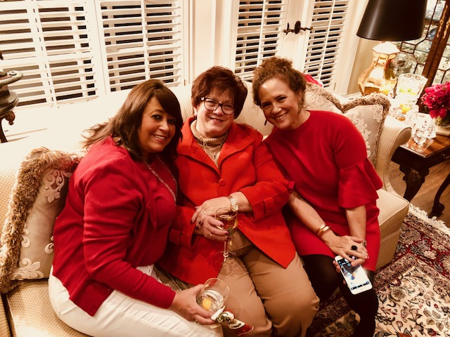 Renee, Kim and Angele - Holiday Party 2017