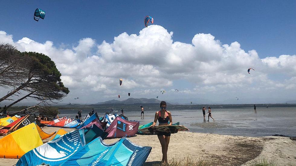 Kite school Sardinia, Spot Punta trettu