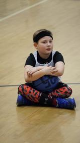 Jackson listens intently