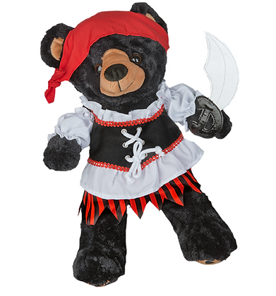 Pirate Girl Costume with Sword