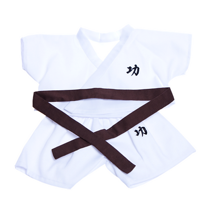 Karate Costume with 5 Color Belts