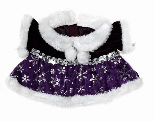 Purple Snowflake Dress