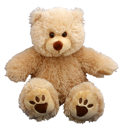 Light Tan Furry Teddy Bear