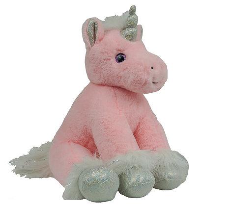 Pink & Silver Unicorn