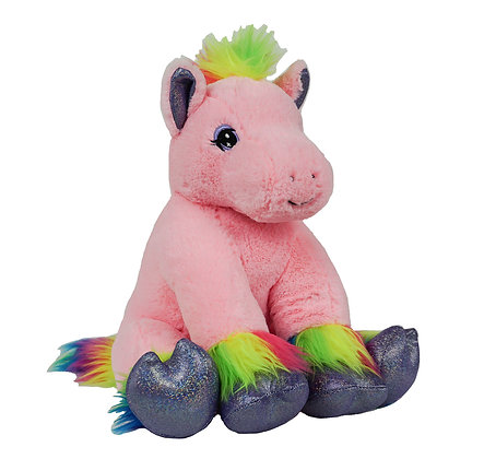 Pink Rainbow Horse