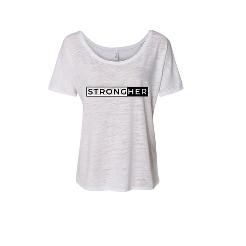 8816 STRONGHER Slouchy Tee