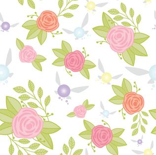 Garden of Fairies Pattern