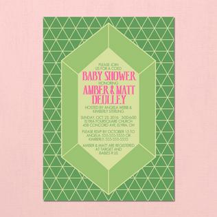 Legend of Zelda Baby Shower Invites