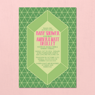 Legend of Zelda Baby Shower Invites