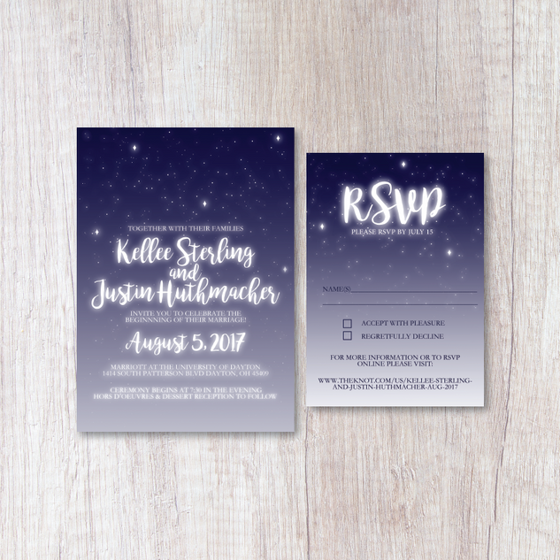 Starry Night Wedding Suite