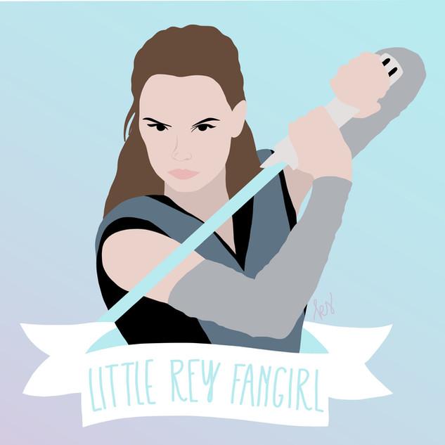 Little Rey Fangirl
