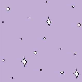 Star Pattern in Lavender