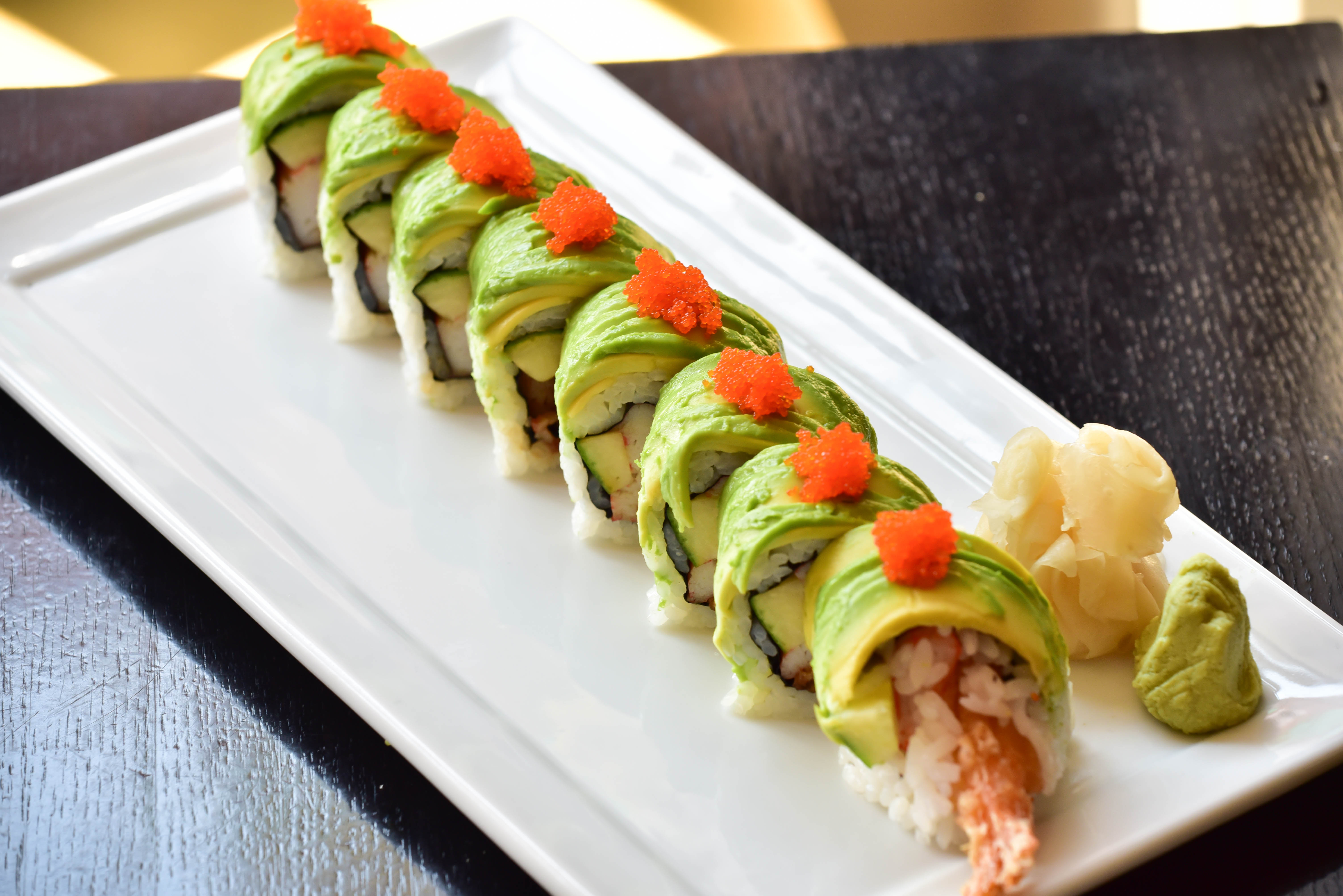 Dragon roll 12.00